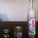 酒屋さんが作った酒塩麹と有機もろみ、なめらかあまさけ