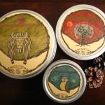 宇宙とつながる!かわいいイラストの缶に詰められた美味しい無農薬茶。ギフトにも最適「どこでもそら」
