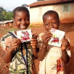 売上が寄付につながる! ガーナの子どもたちと陸前高田の働く人たちへ「しあわせを運ぶ てんとう虫チョコ」