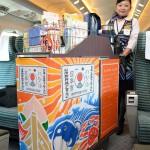 山陽新幹線の車内ワゴンでしか買えない!中川政七商店とJR西日本、お土産もの切り口に老舗メーカーのものづくりを伝えるプロジェクト「走る日本市」
