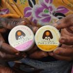 ガーナのシアの木の実の種から採れる天然の保湿クリーム。アフリカ工房のぴゅあシアバター