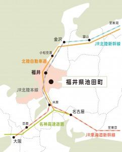 池田町地図