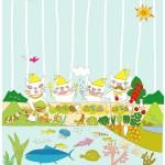 エコやオーガニックをテーマとした絵を全国より募集中!第1回キッズアワード ~ぼくのわたしの食べ物の絵コンテスト~