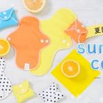夏にこそ、蒸れにくい布ナプキンを。オーガニック100%布ナプキン通販サイト〈nunona〉 カラフルなサマーカラーの期間限定3セットも登場