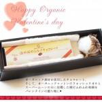 スーパームーンの日に収穫された和綿の実を添えて。オーガニックのやさしさ溢れる〈メイド・イン・アース〉バレンタインギフト