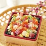 有機食材使用の手まり寿司・チラシ寿司や、雛あられなど。〈Bio c' Bon〉の オーガニックな雛まつり