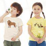 動物モチーフの「服育」キッズTシャツを着て生物多様性を学ぶ!オーガビッツ × Samansa Mos2 Lagom × ズーラシア