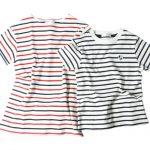 オーガニックコットン100%使用のボーダーTシャツで小児がん支援!